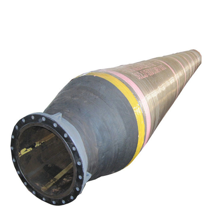 Flexible Marine Discharge Rubber Floating Hose For Dredging Project